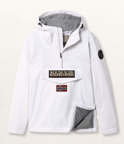 Napapijri Tribe Rainforest Winter Jacket Bright White