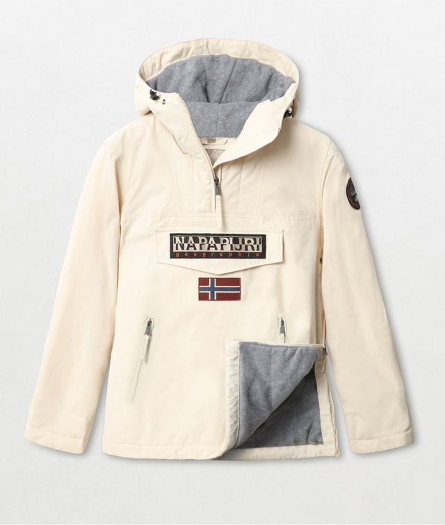 Napapijri Tribe Rainforest Pocket Jacket White