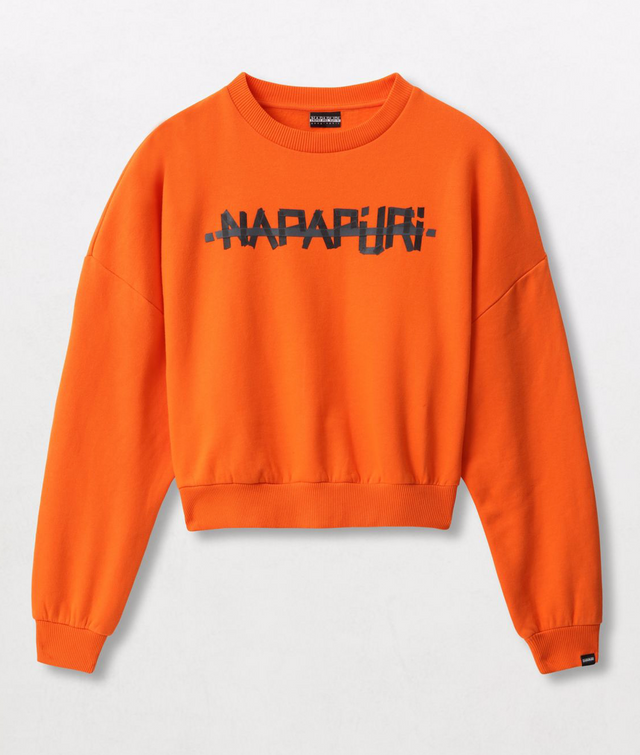Napapijri Tribe Sweatshirt Bolt W Orange