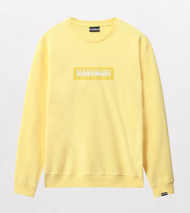 Napapijri Tribe Box C Sweatshirt Yellow