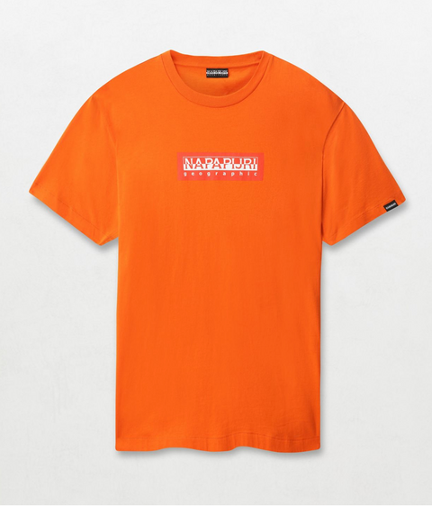 Napapijri Tribe Sox T-shirt Orange
