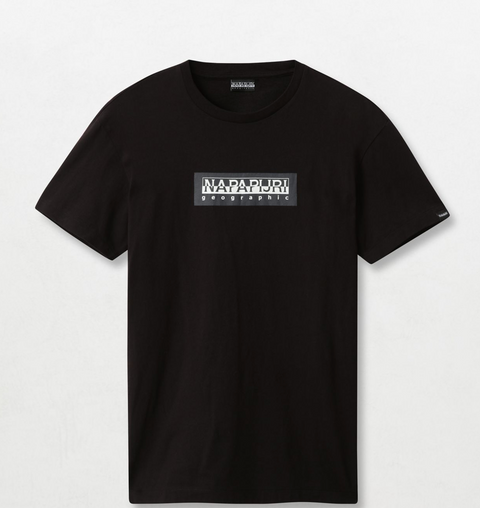 Napapijri Tribe Sox T-shirt Black