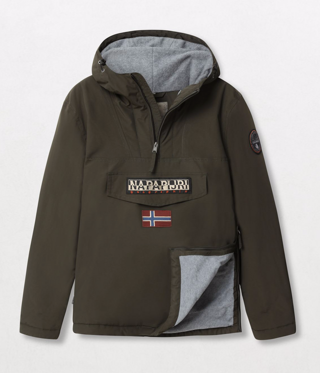 Napapijri Tribe Rainforest Winter Jacket Forest Green