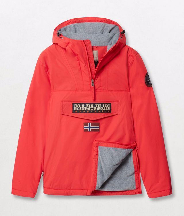Napapijri Tribe Rainforest Winter Jacket High Risk Red