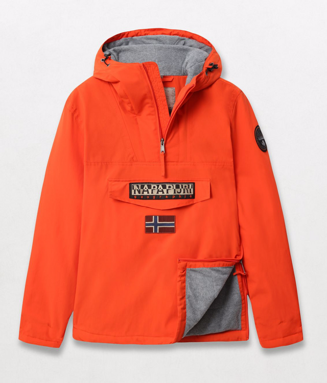 Napapijri Tribe Rainforest Winter Jacket Orangeade