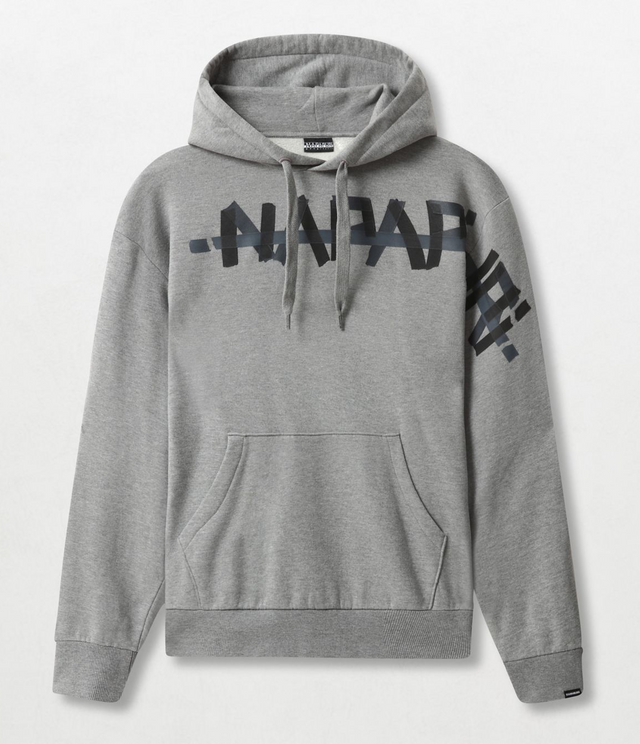 Napapijri Tribe Hoodie Bolt H Medium Grey