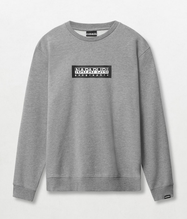 Napapijri Tribe Box C Sweatshirt Grey