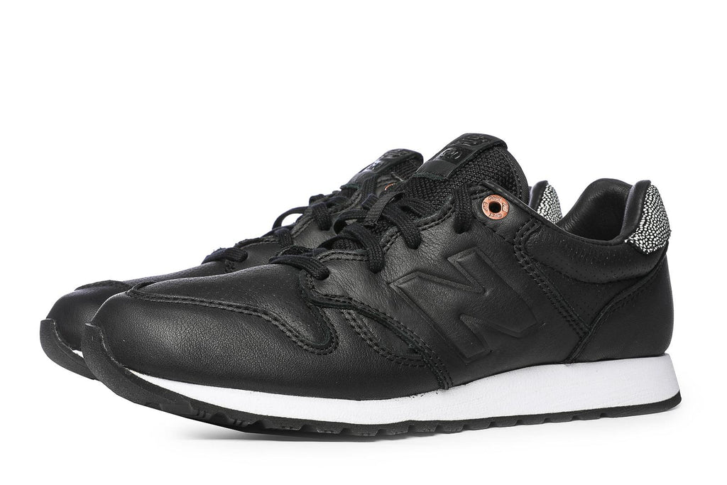 la moitié da376 64e4e New Balance WL 520 GY Sneakers - 36 / Black / Leather
