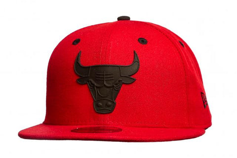 New Era 5950 Mba Rubber Logo Bulls