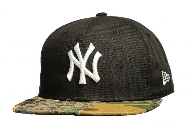 New Era 950 Patchwork Camo Snapback NY