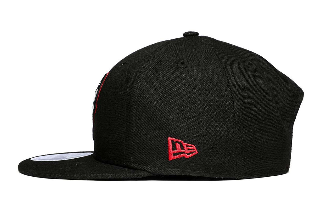 New Era Cap 950 Chicago Bulls Glow in the Dark Black