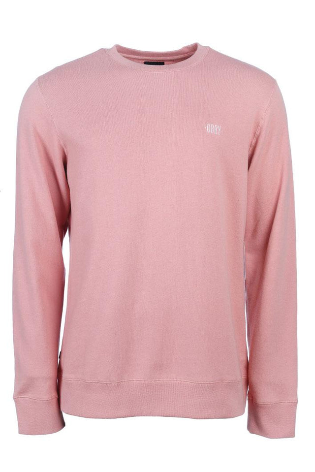 OBEY Park Crewneck Rose