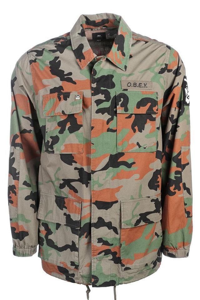 OBEY Creeper Tripper Jacket Camo