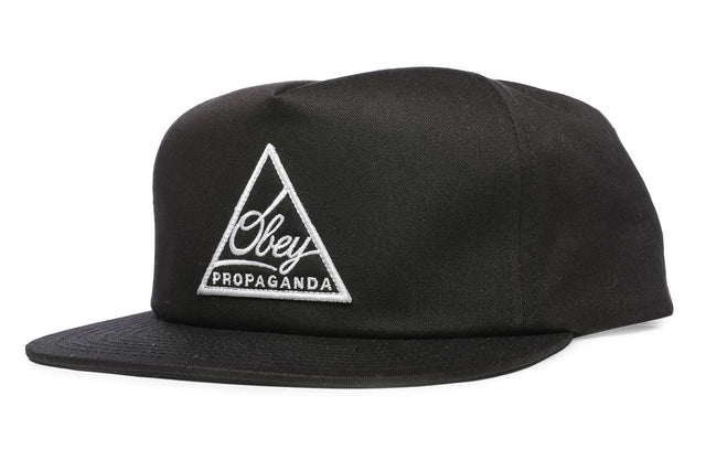 OBEY New Federation Snapback Black