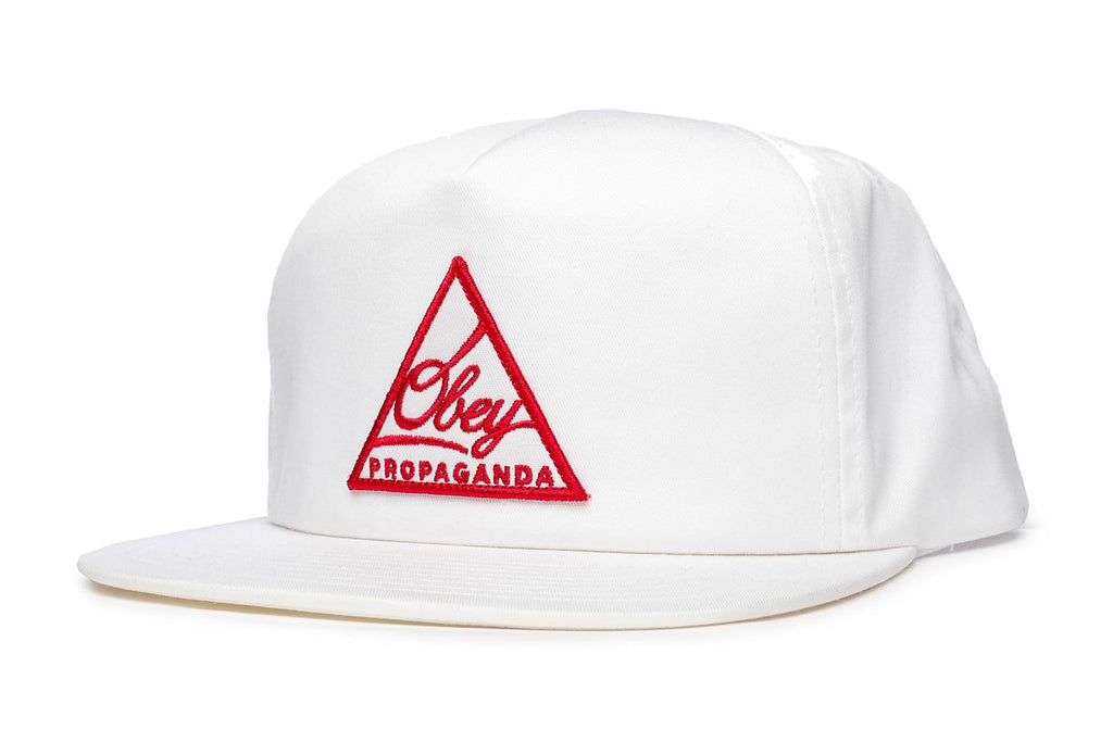 OBEY New Federation Snapback White