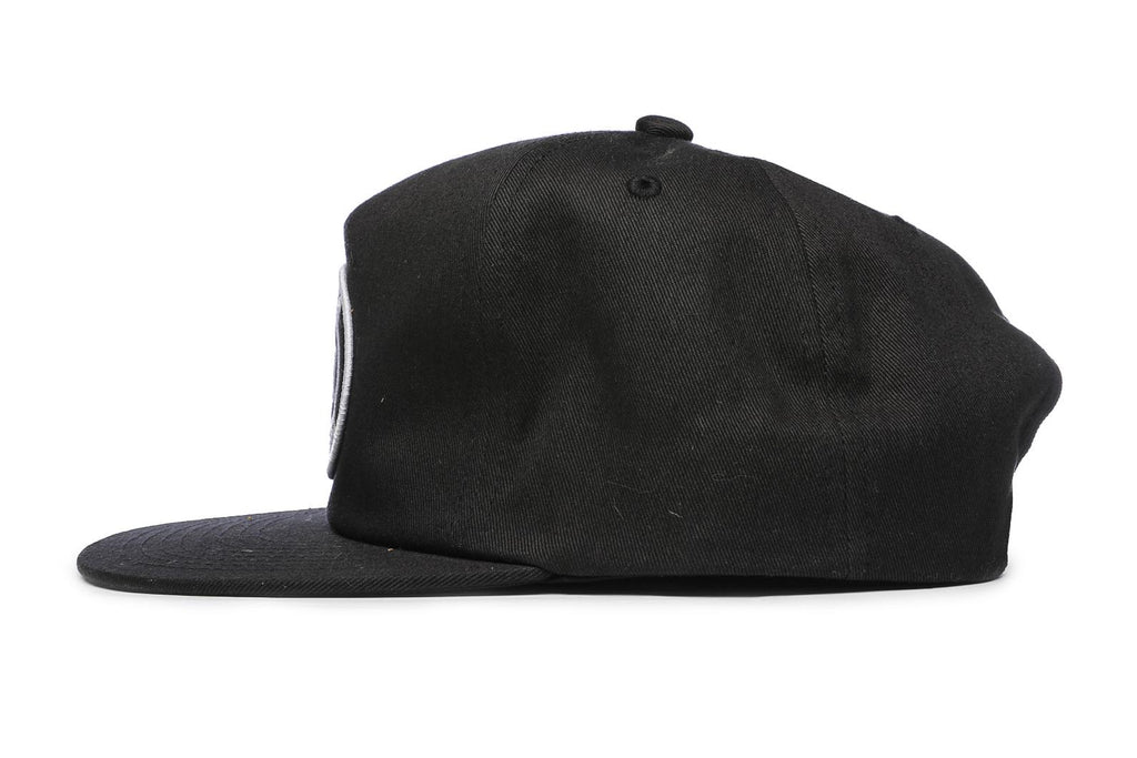 OBEY Oval Patch Snapback Black