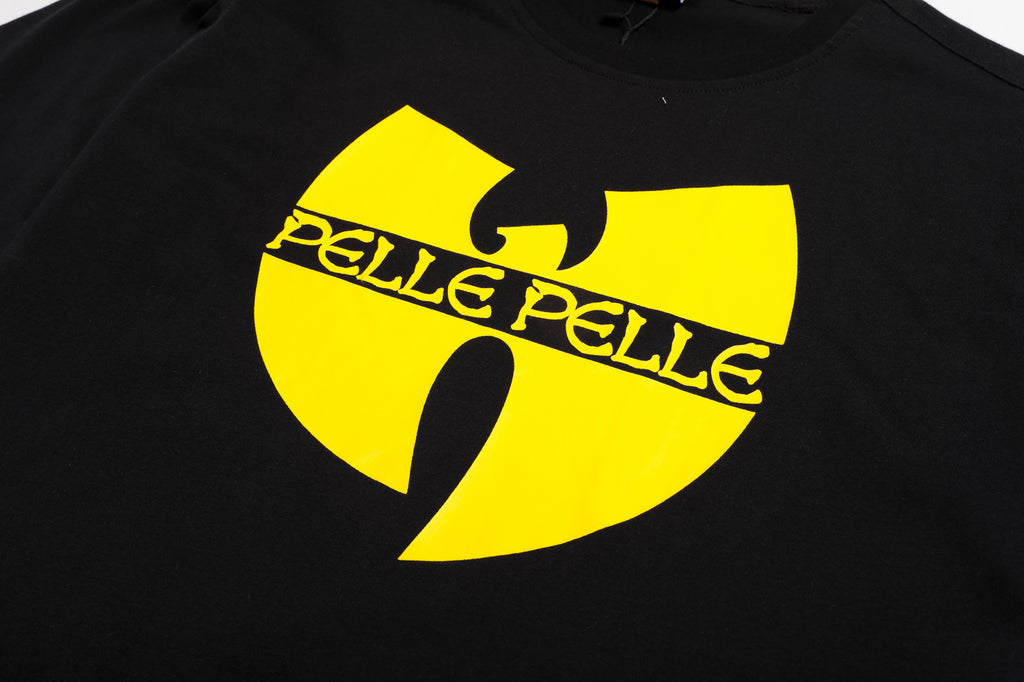 Pelle Pelle x Wu Tang  big logo on back T-shirt