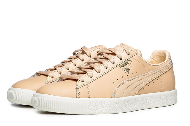Puma Basket Clyde Natural Trainers