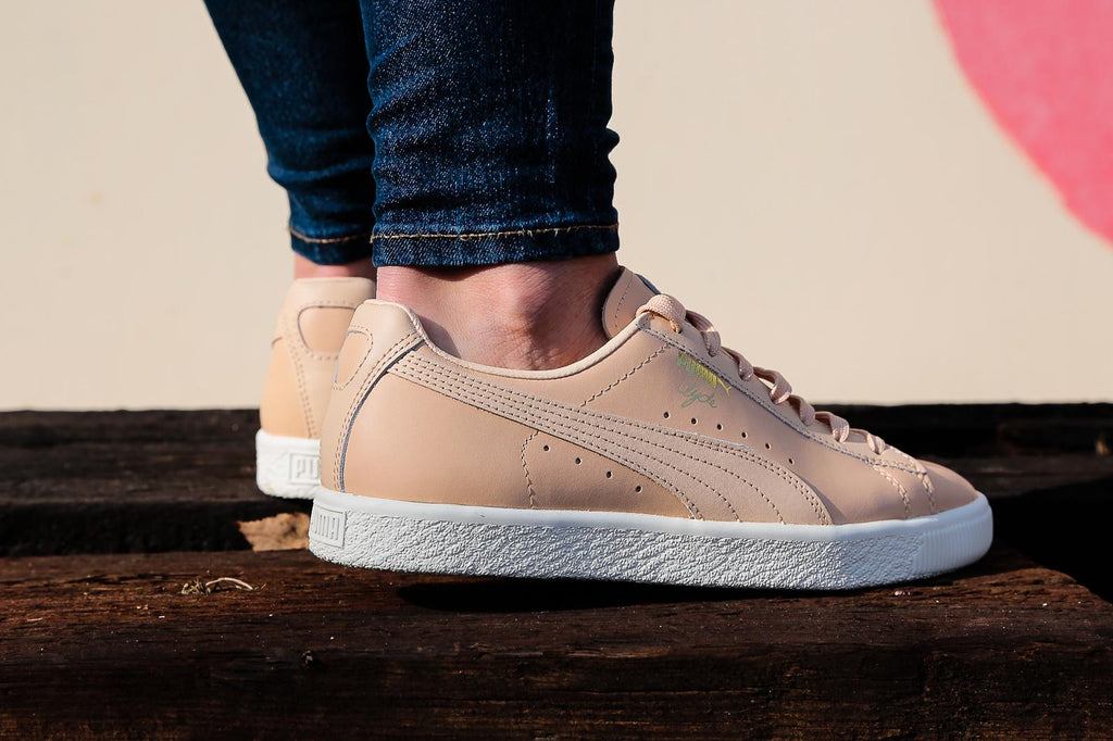Puma Basket Clyde Natural Trainers – Brands24