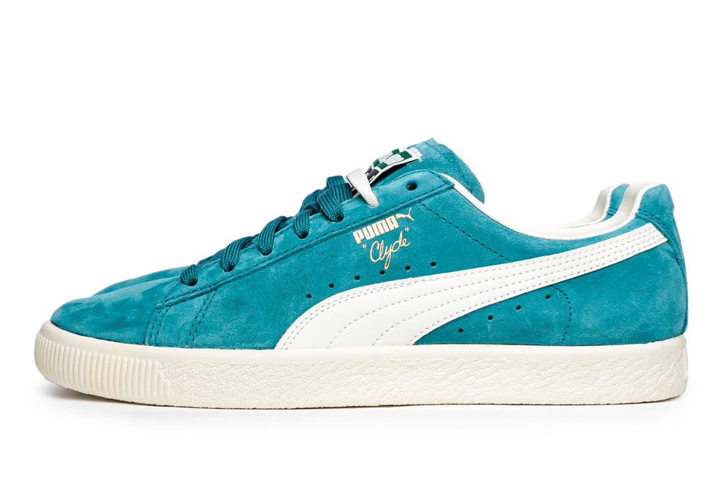 Puma Clyde Premium Core Harbor Blue Trainers
