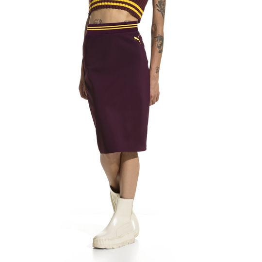 FENTY Puma by Rihanna Varsity Pencil Skirt