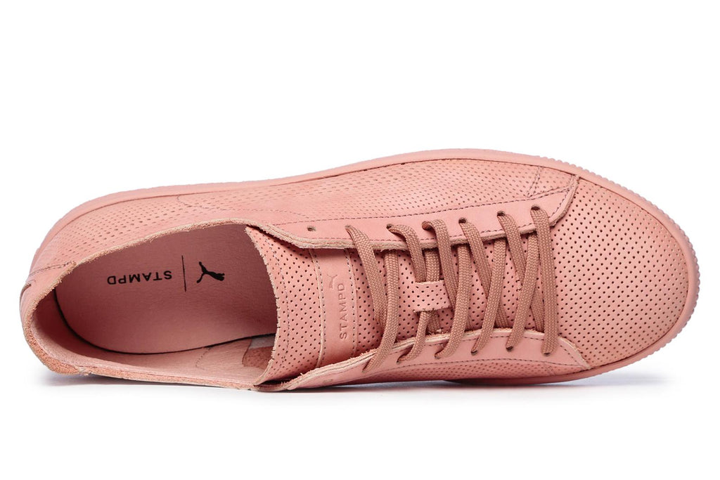 Puma x STAMPD Clyde Pink Sneakers Brands24