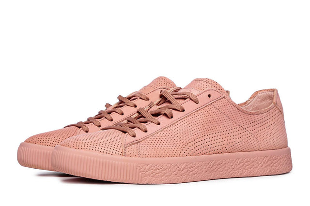 Puma x STAMPD Clyde Pink Sneakers