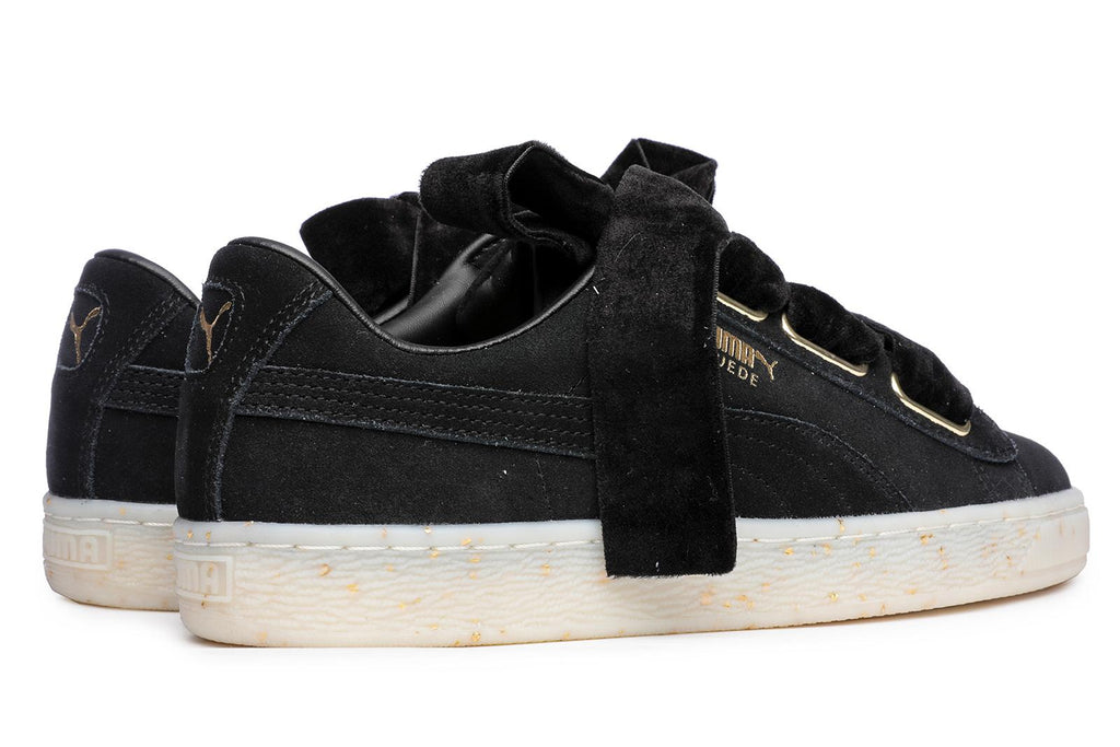 Puma Suede Heart Celebrate Sneakers Black