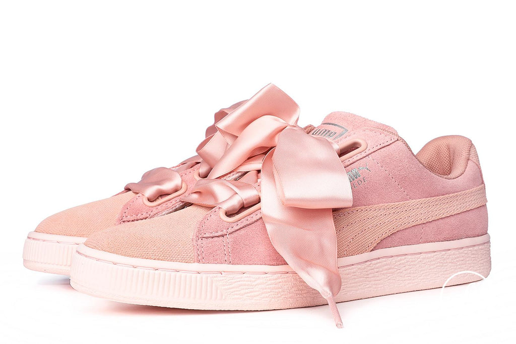 Puma Suede Heart Pebble Sneakers Pink