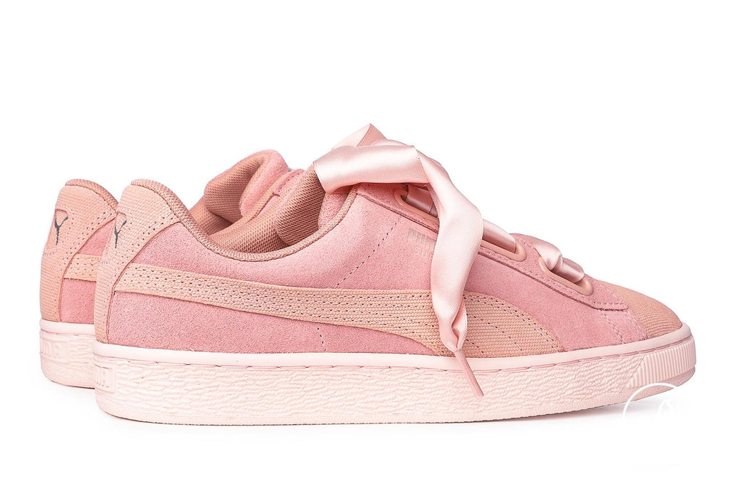 buy popular fbb25 6a081 Puma Suede Heart Pebble Sneakers Pink – Brands24
