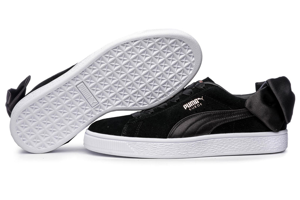 Puma Suede Women's Bow Trainers Black