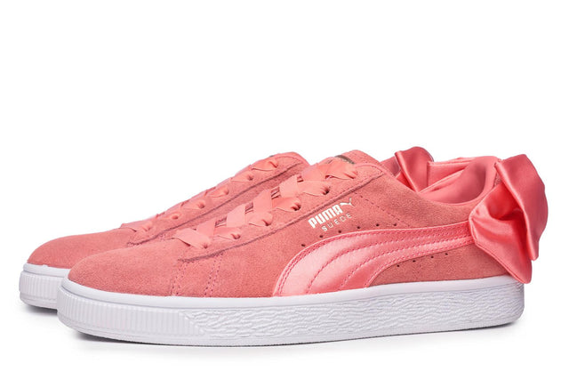 Puma Suede Women's Bow Trainers Pink
