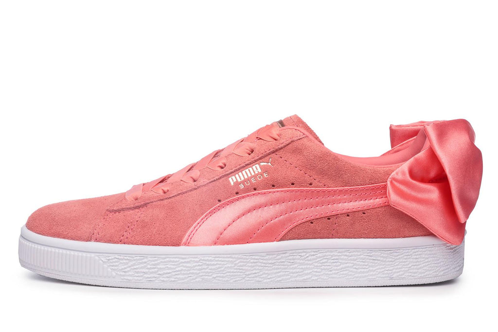 Puma Suede Women's Bow Trainers Pink – Brands24