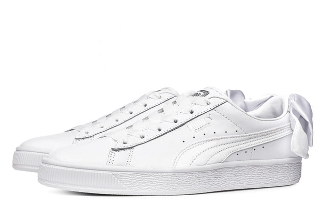 Puma Basket Women's Bow Trainers White