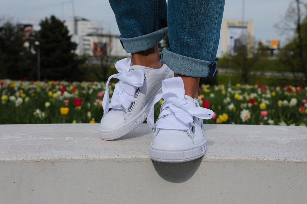 Puma Basket Heart Oceanaire Sneakers White
