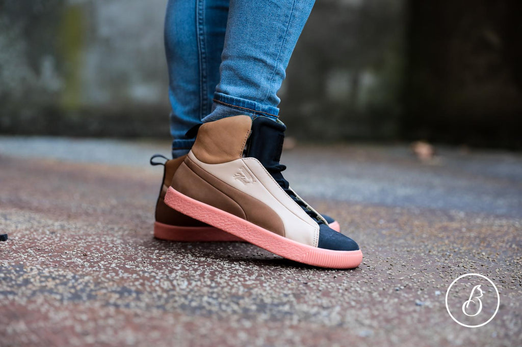wholesale dealer e4742 5ee5f Puma PUMA x NATUREL Clyde FSHN Glow Mid Trainers – Brands24