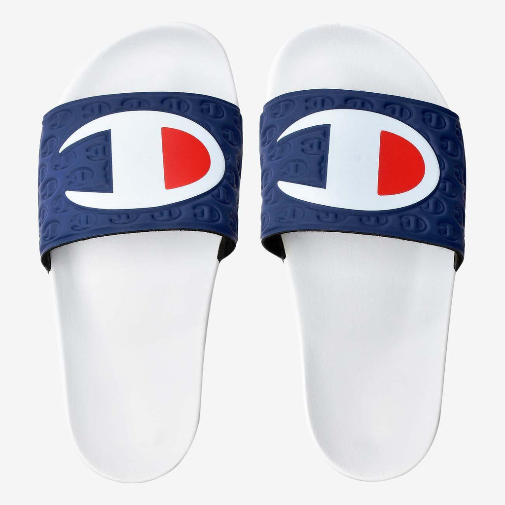 Champion Slides Multi Lido Navy-White
