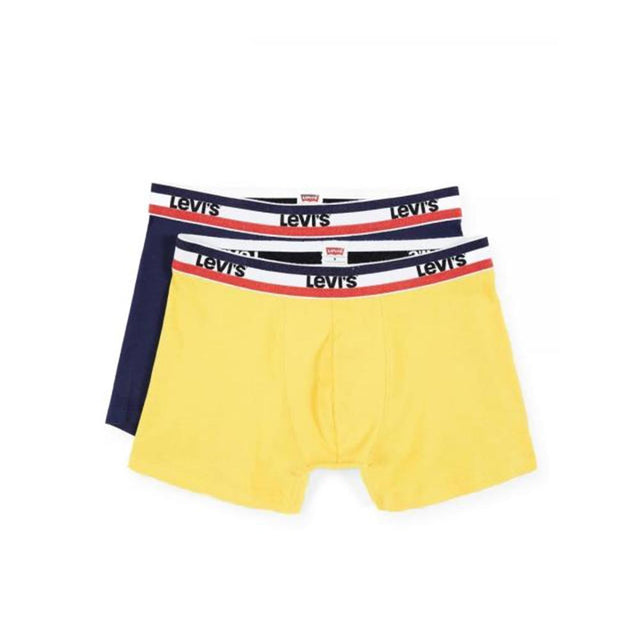 Levi´s® Sportwear Color Boxers  Brief 2 Pack Blue/Yellow