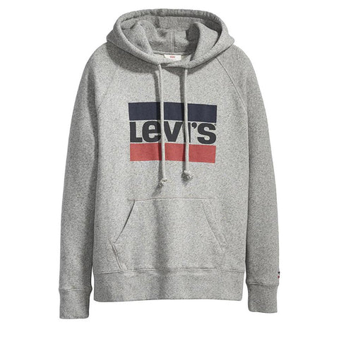 Levi's® Graphic Batwing Logo W  Hoodie Grey