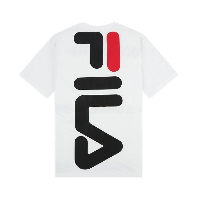 Fila Anatoli Large Logo T-shirt Bright White