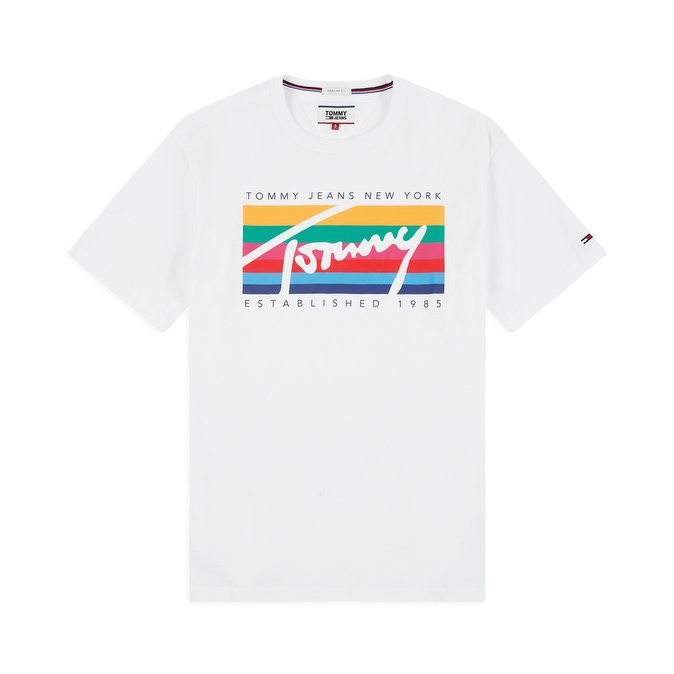 Tommy Jeans Tommy Rainbow Box T-shirt