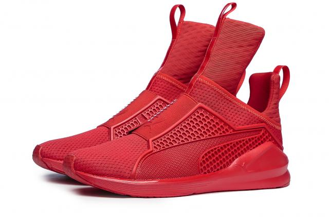 Puma x Rihanna Fenty Trainer High Risk Red