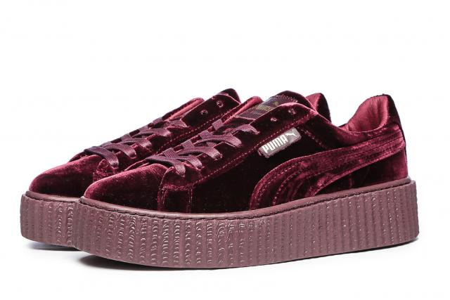 FENTY Puma by Rihanna Velvet Creepers Royal Purple