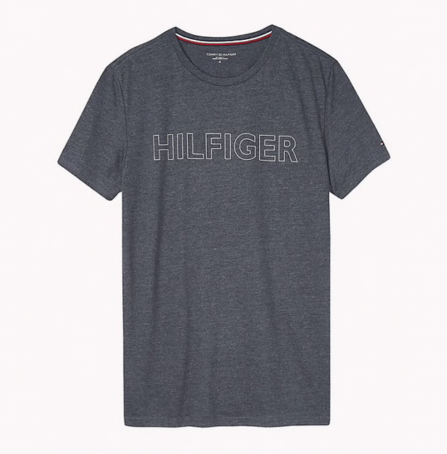 Tommy Hilfiger Logo T-shirt Grey