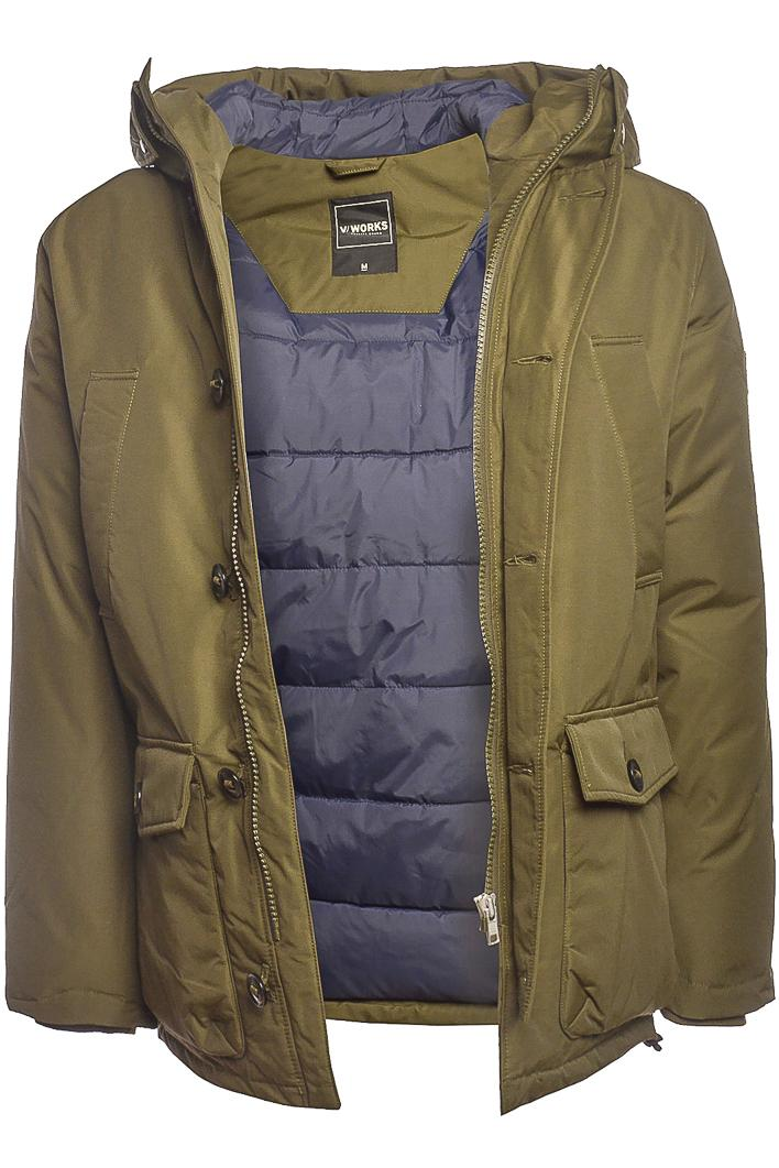 V/WORKS Craven Parka Drab Green