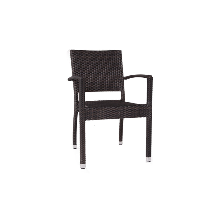 Brackenstyle Ascot Side Chair & Round Table Set - Seats 4