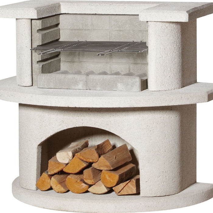 Buschbheck Venedig Grillbar Masonry Barbecue Outdoor Fireplace