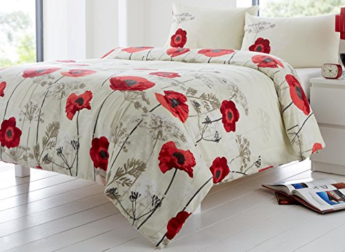 Fusion Chara Red Duvet Cover Set - Single