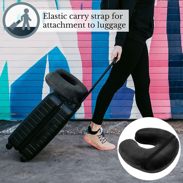 Savisto Memory Foam Travel Pillows