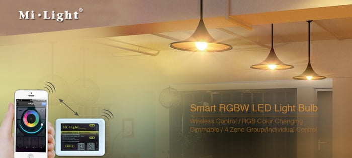 Milight E27 RGB/Multicolour 9W Smart Light Bulb